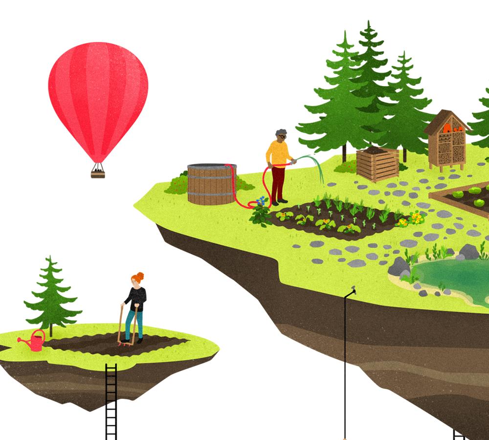 Je démarre un jardin bio à la montagne
